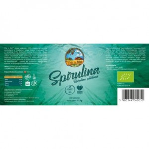 SPIRULINA 100% ORGANIC - 230tabl [This is BIO®]