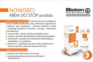 KREM DO STÓP prodiab / FOOT CREAM