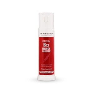 Witamina B12 Energy Booster - metylokobalamina (Producent: dr Mercola) (25 ml) - suplement diety