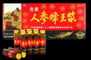 Żeń-Szeń - Ginseng Royal Jelly - Żeńszeń do picia