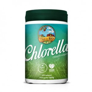 CHLORELLA 100% ORGANIC - 410tabl [This is BIO®]