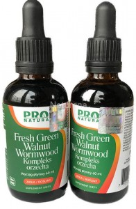Fresh Green Walnut Extract 60 ml Now foods